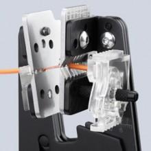Afstrippen met de richting van de kabel mee dankzij precieze mesprofielen